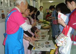 秋田エプソン健康フェアでの取り組み