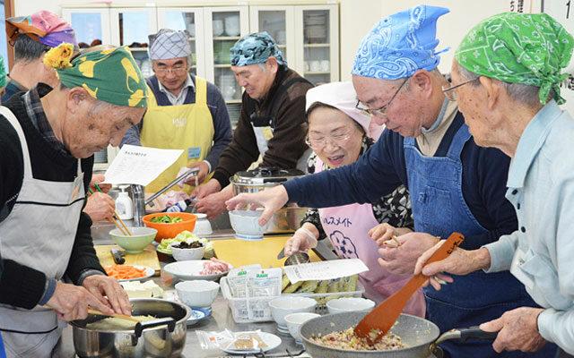 介護予防へ栄養、運動を指導/市民の生きがいづくりも支援<span>多様な教室を開催する北秋田市</span>
