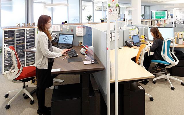 元気に働ける環境を整備/新社屋でアイデア具現化<span>健康経営を推進する能代電設工業</span>