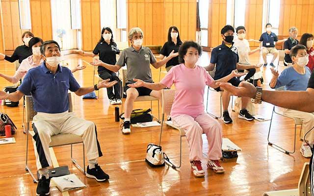 広めよう、「円熟健康運動」/総合型クラブを通じ普及員養成<span>体を動かす習慣づくりを促す県スポーツ協会</span>